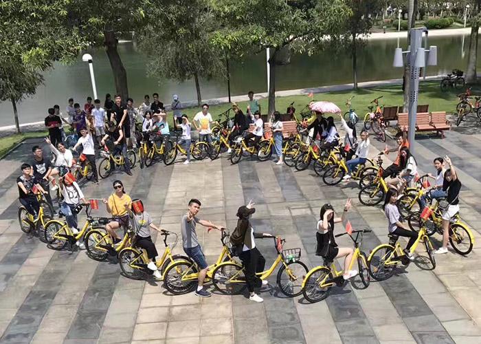 2017年赢网环东莞骑行活 动